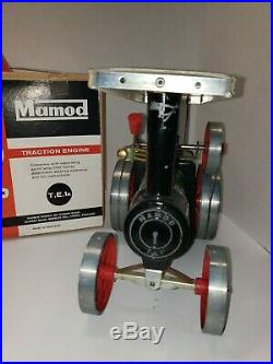 Vintage Mamod Traction Engine Live Steam Engine Tractor Model TE1A