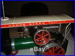 Vintage Mamod Traction Engine Steam Engine Steam Tractor
