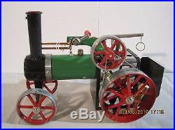 Vintage Mamod Traction Engine Steam Engine Steam Tractor TE 1A