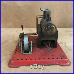 Vintage Mamod model Toy Steam Engine Made in England meccano eractor set