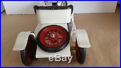 Vintage Mamod toy car steam engine roadster