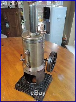 Vintage Marklin 4107/8.5 Vertical Steam Engine Dampfmaschine Good Condition