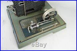 Vintage Marklin live steam engine, prewar tin toy #1
