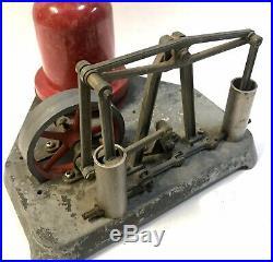 Vintage Metal Toy Walking Beam Pump Electric Air Steam Engine