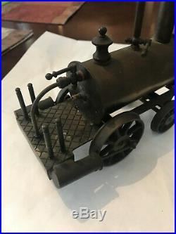 Vintage Model Steam Hot Air Engine Basset Lowe Brass Metal Toy Train England