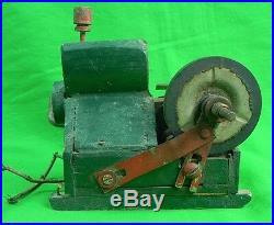 Vintage Old Custom Hand Made Toy Steam Engine