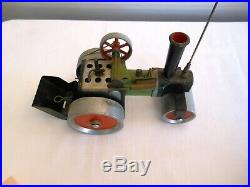 Vintage Pre 1965 Mamod Steam Roller, Powered By Steam Engine, S. R. 1