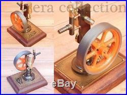 Vintage Retro Style live Steam Engine Model Handmade Working Collectible Engine