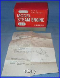Vintage SAITO Model Steam Engine OE1/OB1 Made in Japan SUPER