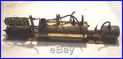 Vintage Saito 3tdr Steam Engine With Boiler
