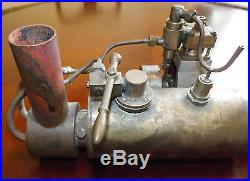 Vintage Scratch Built Live Steam Engine Model Toy Boat Train Etc