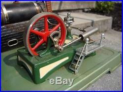 Vintage Steam Engine Fleischmann With SAW MADE IN GERMANY