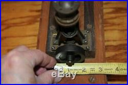 Vintage Steam Engine Original Plant Parts Measures 2-1/2 by 1-1/4 by 3 High