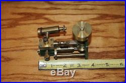 Vintage Steam Engine Original Plant Parts Measures 4 by 1-3/4 by 3-1/2 High