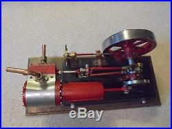 Vintage Steam Engine Stuart Coles PM Research
