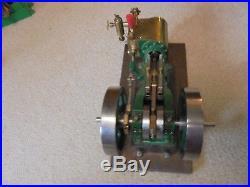 Vintage Steam Engine Tiny Power