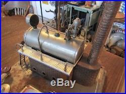 Vintage Steam Engine Toy - Wilesco D20