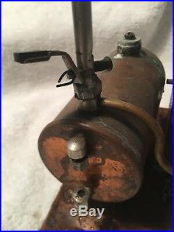 Vintage Steam Engine with Whistle
