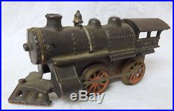 Vintage Steel Steam Engine Locomotive and Tender Toy Train