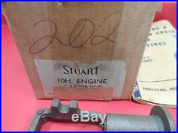 Vintage Stuart 10H Steam Engine Casting Kit (1959) with Valve Kit Accessory