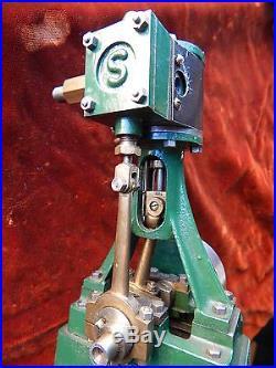 Vintage Stuart 10V Live Steam Engine Fully AssembledApparently Unused No Resrv
