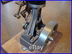 Vintage Stuart Vertical Model Steam Engine