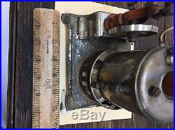 Vintage Vertical Weeden Steam Engine -Used with base
