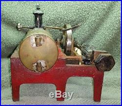 Vintage WEEDEN MODEL 14 STEAM ENGINE ca 1920's