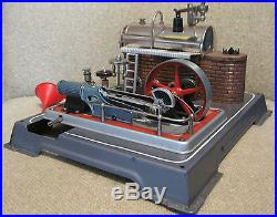 Vintage WILESCO D-16 HORIZONTAL LIVE STEAM ENGINE Toy