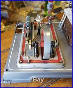 Vintage WILESCO D Steam Engine Toy Nice Clean Condition