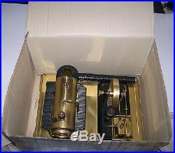 Vintage WILESCO German Toy Steam Engine In Box, D106 Dampfmaschine D-106 GERMANY