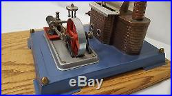 Vintage WILESCO Model D8 STEAM ENGINE Model Toy WEST GERMANY