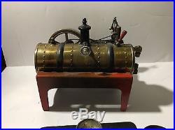 Vintage Weeden 14 horizontal live steam engine