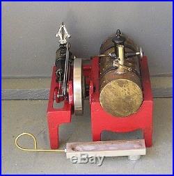 Vintage Weeden 14 horizontal live steam engine (refurbished)