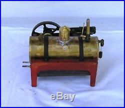 Vintage Weeden 647 horizontal live steam engine