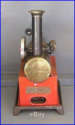 Vintage Weeden 702 over type horizontal live steam engine