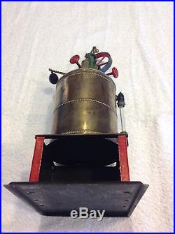 Vintage Weeden Brass Steam Engine #4B