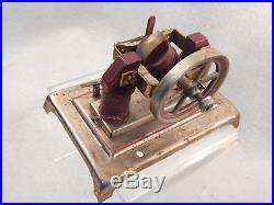 Vintage Weeden Electric Steam Engine Dynamo Runs On 3 Volts. Look Guaranteed