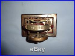 Vintage Weeden Live Steam Engine Motor Accessory