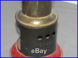 Vintage Weeden Metal Vertical Line Wheel Toy Steam Engine Germany boiler upright