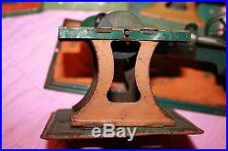 Vintage Weeden Mini Work Shop Steam Engine Tool Trip Hammer Saw Grinder More