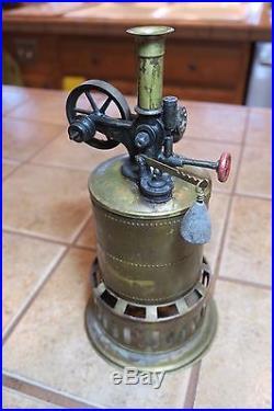 Vintage Weeden No 3 Steam Engine Runs Well In Good Condition