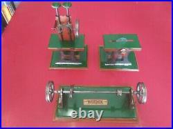 Vintage Weeden Toy Steam Engine Accessories Jackshaft Saw Hammer Valve