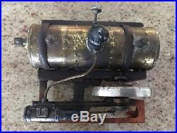 Vintage Weeden Toy Steam Engine Cast Iron/Brass