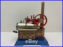 Vintage Wilesco D14 Steam Engine with Original Box West Germany