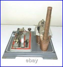 Vintage Wilesco D16 Toy Model Live Steam Engine Pellet Burner West Germany