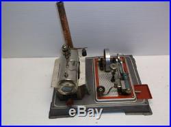 Vintage Wilesco D16 steam engine works