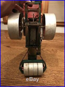 Vintage Wilesco D365 Toy Steam Engine Roller