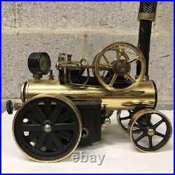 Vintage Wilesco D430 Lokomobile Steam Engine Toy