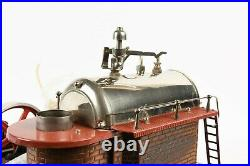 Vintage Wilesco D 24 Steam Engine with Manometer